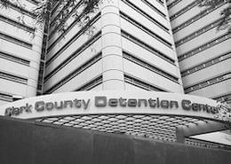 Entrance of Clark County Detention Center